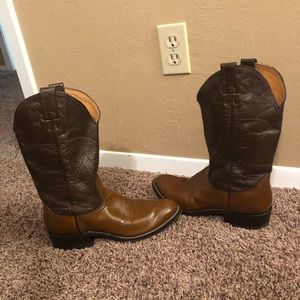 Nocona leather boots SZ 9 B